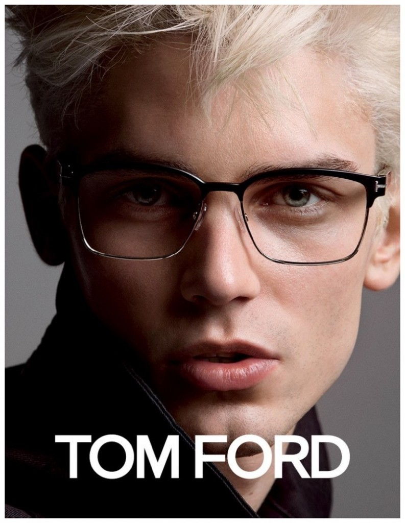 Major Model Arthur G para Tom Ford linha Eyewear