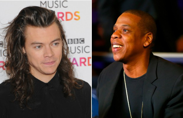 Jay-Z demonstra interesse em parceria com Harry Styles, do One Direction (Foto: Getty Images)