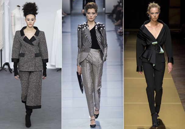 Alta-Costura Fall 2016: terno (Foto: Getty Images)